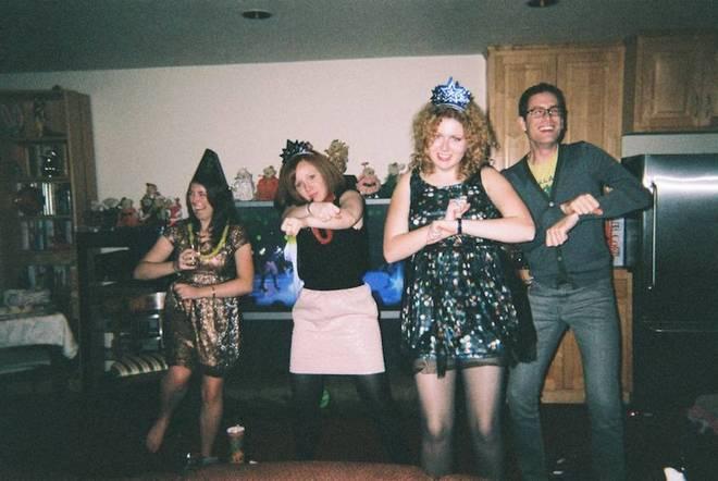 New Years dance