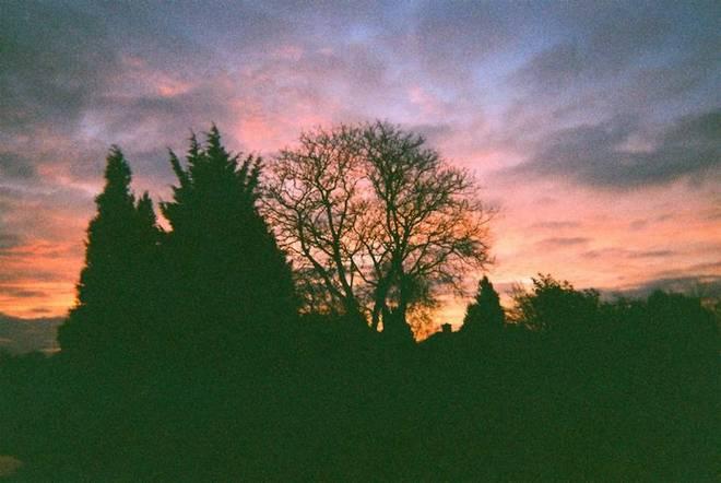 Gilbert Rd. sunset