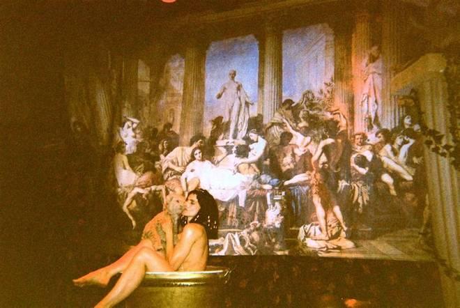 Bathing Cleopatra