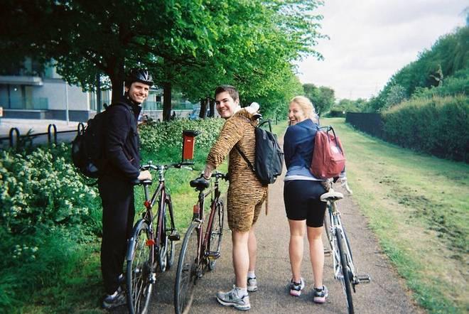 London to Cambridge cycle