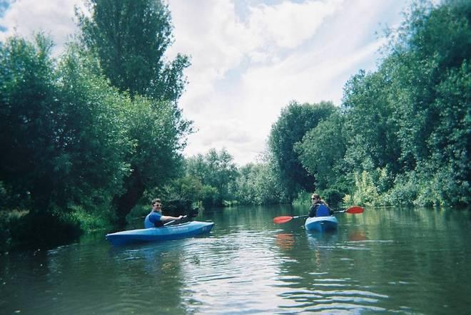 Birthday kayaking
