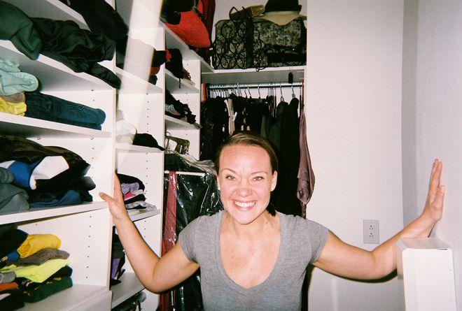 Drea & closet