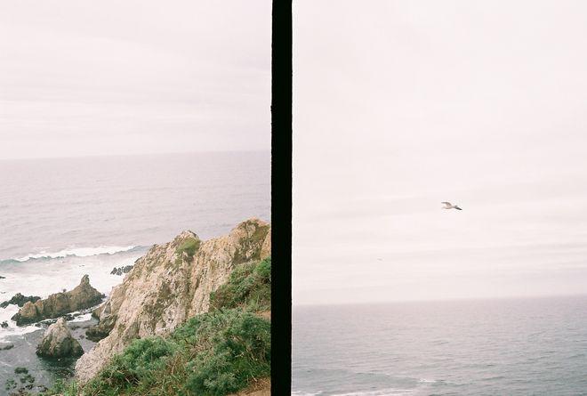 cliff / sea