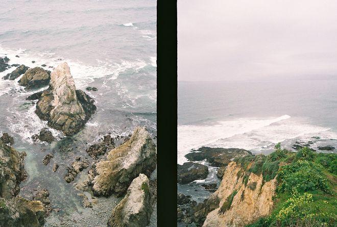sea / cliff