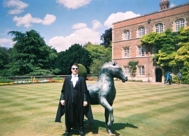 graduate, horse